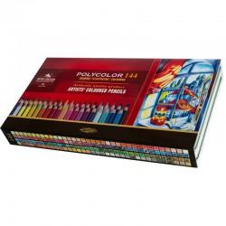 KOH-I-NOOR 3828, souprava pastelek Polycolor, 144ks v kovové krabičce