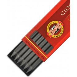 KOH-I-NOOR grafitová tuha 4865/6ks 6B do mechanických tužek