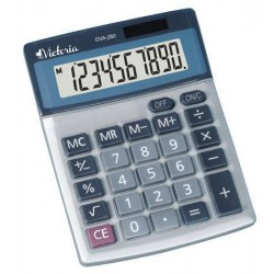 VICTORIA GVA-260, stolní kalkulačka 10-ti místný displej
