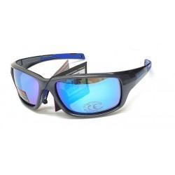 Marauder, sportovní šedé polarizační sluneční brýle HD