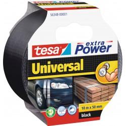 Tesa extra Power 56348, Textilní univerzální opravná páska 50 mm x 10 m černá