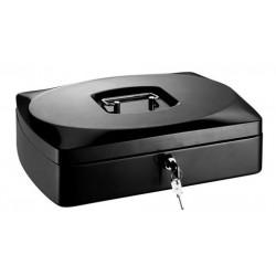 Conmetron kovová příruční pokladna 35, velikost 300x230x90 mm, černá