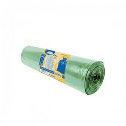 Pytle na tříděný odpad barevné 120 litrů, 25 ks, 70x100 cm, zelené