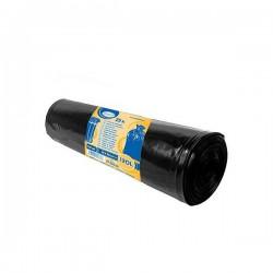 Pytle na tříděný odpad barevné 120 litrů, 25 ks, 70x100 cm, černé