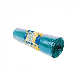 Pytle na tříděný odpad barevné 120 litrů, 25 ks, 70x100 cm, modré