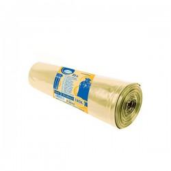 Pytle na tříděný odpad barevné 120 litrů, 25 ks, 70x100 cm, žluté