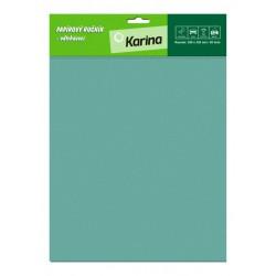 Papírový ručník trhací závěsný 250x320 mm, 50 listů, zelený