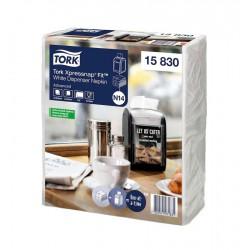 Tork Xpressnap Fit 15830, jemně bílý ubrousek do zásobníku, N14, balení 720ks, sklad 1/2