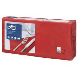 Tork 477210, Tork ubrousek červený – oběd, 2 vrstvy, 33x33 cm