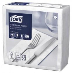Tork 477579, jemný bílý ubrousek, večeře, 100ks, sklad 1/8, 3 vrstvy