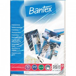 Bantex 2114, Zakládací obal na fotografie A4, rozměr 13x18, 10ks