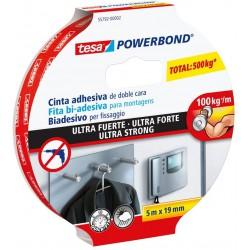Tesa Powerbond 55792, Ultra Strong oboustranná montážní páska bílá, 19mm x 5 m