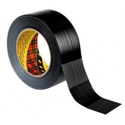 3M 2903, Textilní univerzální opravná páska 48mm x 50 m černá, Duct Tape