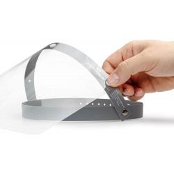 Durable náhradní ochranné folie pro štít na obličej, certifikát CE, 10ks