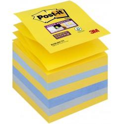 3M Post-it New York, samolepící bločky super silné ve tvaru Z, rozměr 76x76 mm, 6x90 lístků
