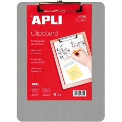 APLI Aluminium Clipboard, hliníková podložka na psaní A4, s klipem