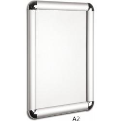 Hliníkový Kliprám A2 59,4 x 42 cm kulaté rohy, profil 25mm