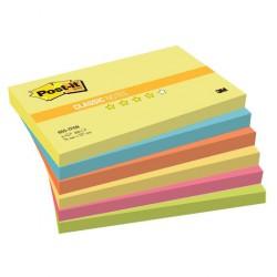 3M Post-it 655, samolepící bločky, rozměr 76x127 mm, 5x90 listů, silně lepící, Dream