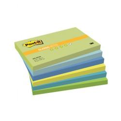 3M Post-it 655, samolepící bločky, rozměr 76x127 mm, 5x90 listů, silně lepící, Dream Collection