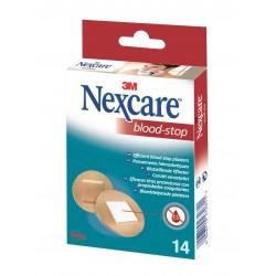 3M Nexcare Blood-Stop, elastická náplast s polštářkem, 14 ks