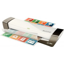 Laminovací stroj LEITZ iLam Office, stříbrná, A4, výkon 80-125 mikronů