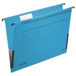 Závěsné desky Leitz ALPHA® s bočnicemi, modrá