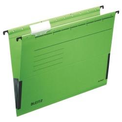 Závěsné desky Leitz ALPHA® s bočnicemi, zelená