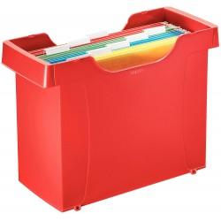 Zásobník na závěsné desky Leitz Plus, červená