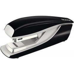 Celokovová sešívačka Leitz NeXXt 5505 s plochým sešíváním, černá