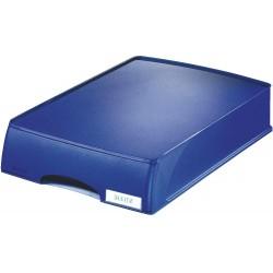Vysouvací odkladač Leitz Plus, modrá
