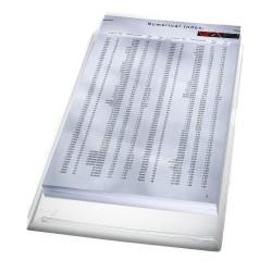 "Obal ""L"" s rozšiřitelnou kapacitou Leitz PVC, kapacita 200 listů, 5 ks obalů"