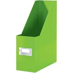 Stojan na časopisy Leitz Click & Store, metalická zelená