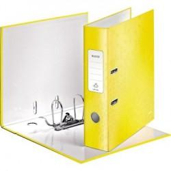 Pákový pořadač Leitz 180° WOW, metalická žlutá, šíře hřbetu 80 mm