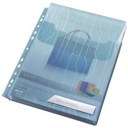 Závěsné Euro desky s rozšiřitelnou kapacitou A4 Leitz CombiFile, 3ks, modré