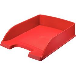 Odkladač Leitz Standard Plus, červená