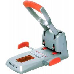 Velkokapacitní děrovačka Rapid Supreme HDC150, výkon 150 listů, stříbrná/oranžová