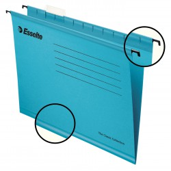 Zesílené závěsné desky Esselte Pendaflex Collection, modrá