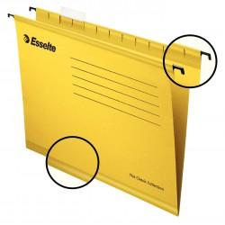 Zesílené závěsné desky Esselte Pendaflex Collection, žlutá