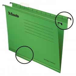 Zesílené závěsné desky Esselte Pendaflex Collection, zelená
