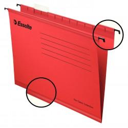 Zesílené závěsné desky Esselte Pendaflex Collection, červená