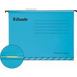 Zesílené závěsné desky Esselte Pendaflex Collection s rychlovazačem, modrá, 10ks