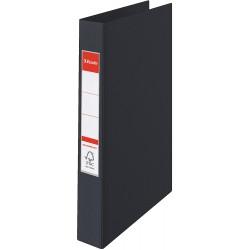 4 - kroužkový pořadač Esselte VIVIDA, celoplastový A4, černá