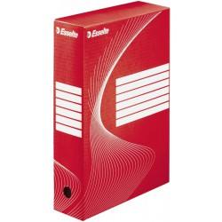 Esselte  128412, archivační krabice 80 mm, červená