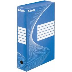 Esselte 128411, Archivační krabice 80 mm, modrá