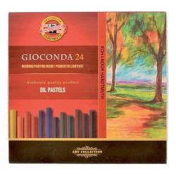 KOH-I-NOOR 8354 Olejové pastely GIOCONDA, sada 24 barev