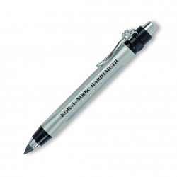 KOH-I-NOOR mechanická tužka Versatil 5312 lakovaná stříbrná, pro tuhy 5,6 mm