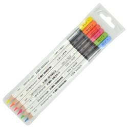 KOH-I-NOOR 3415/6, suché zvýrazňovače v pastelce, sada 6 barev