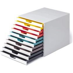 Durable 7630, úložný box na stůl VARICOLOR MIX 10 zásuvek