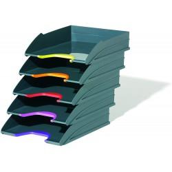 DURABLE VARICOLOR 7705, odkladač na dokumenty sada 5 ks