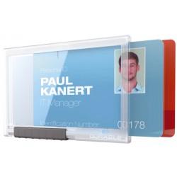 DURABLE 8921, pouzdro na dvě ID karty PUSHBOX DUO